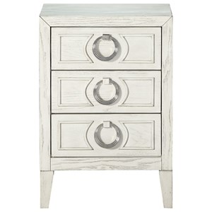 3-Drawer Chairside Chest