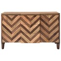 Coast to Coast Imports Coast to Coast Accents Two Door Three Drawer Credenza - Item Number: 37125