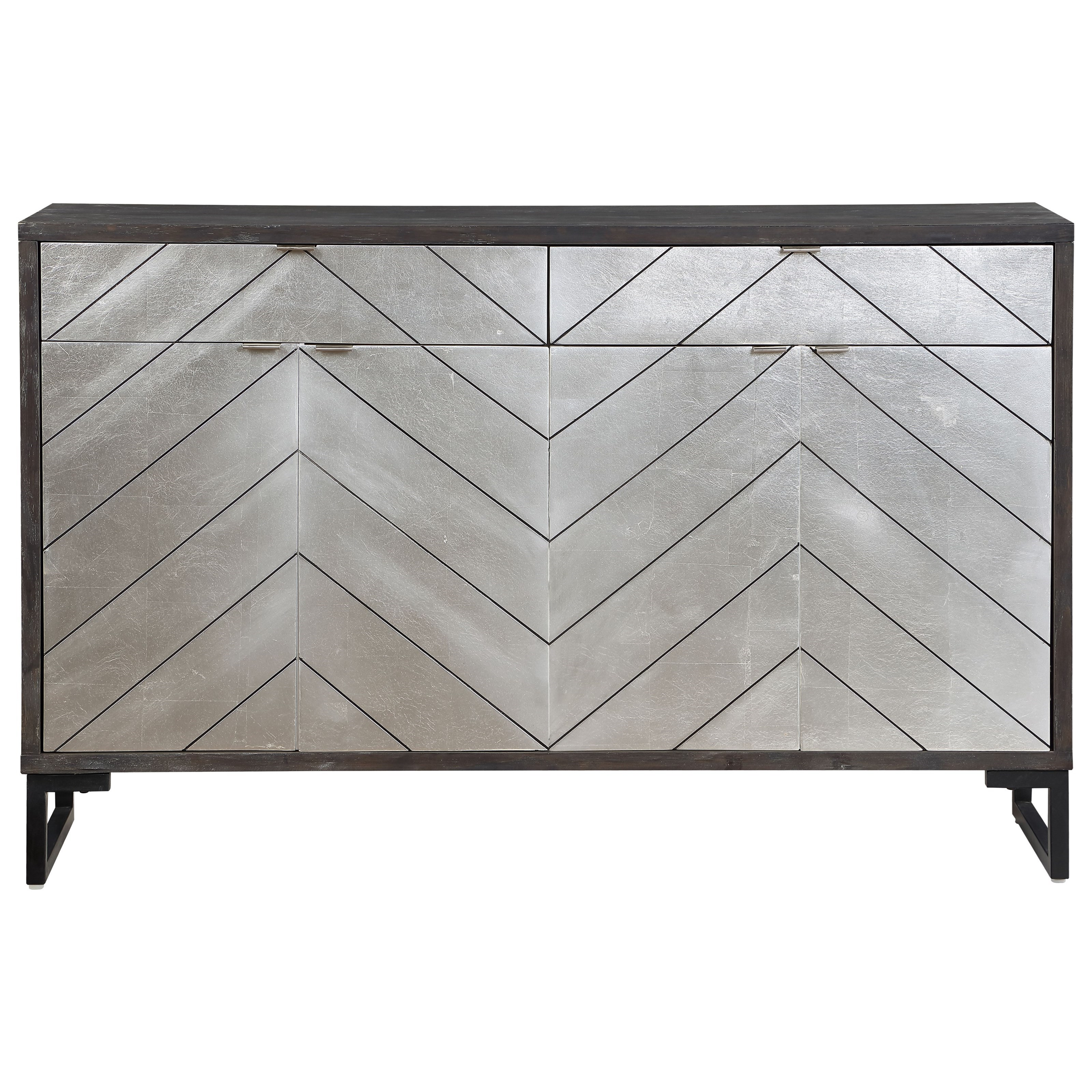 Four Door Two Drawer Media Credenza