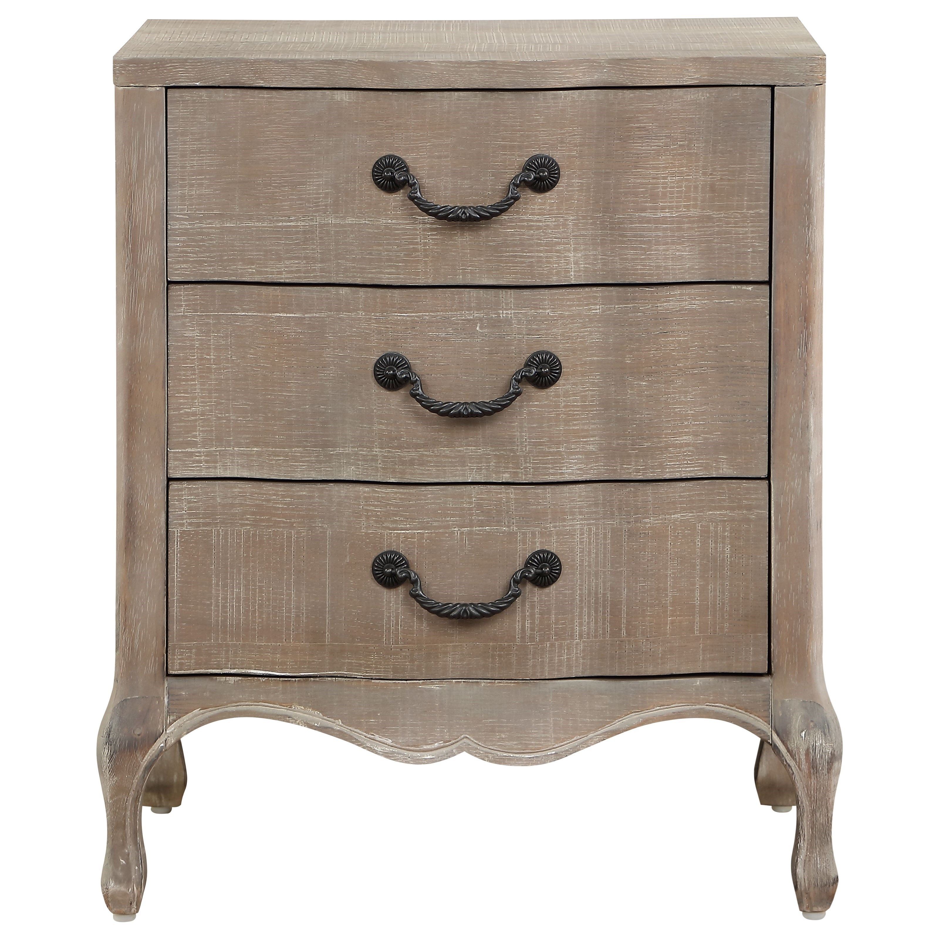 Coast to Coast Accents Three Drawer Chest by Coast to Coast Imports at Baer's Furniture
