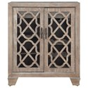 Coast to Coast Imports Coast to Coast Accents Two Door Wine Cabinet - Item Number: 40260