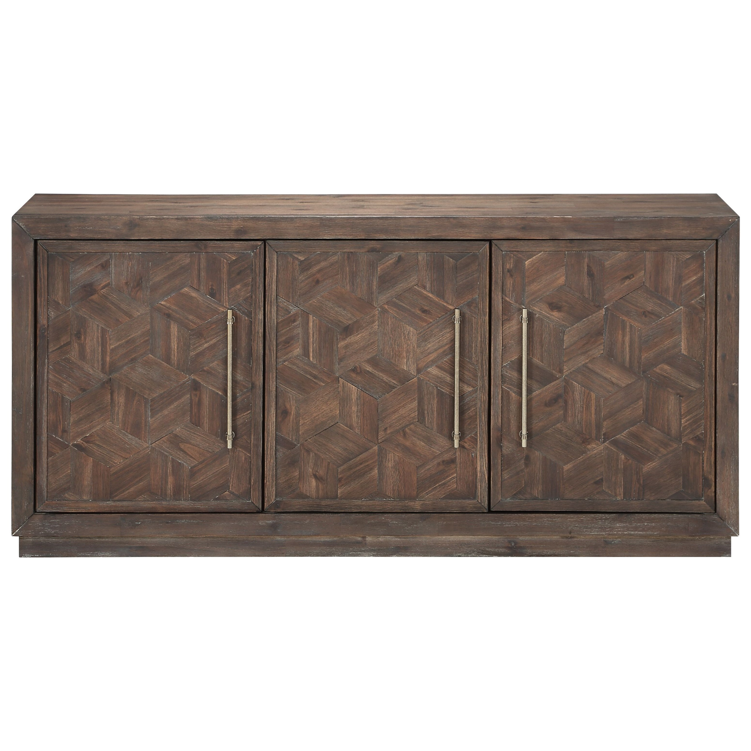 Three Door Media Credenza