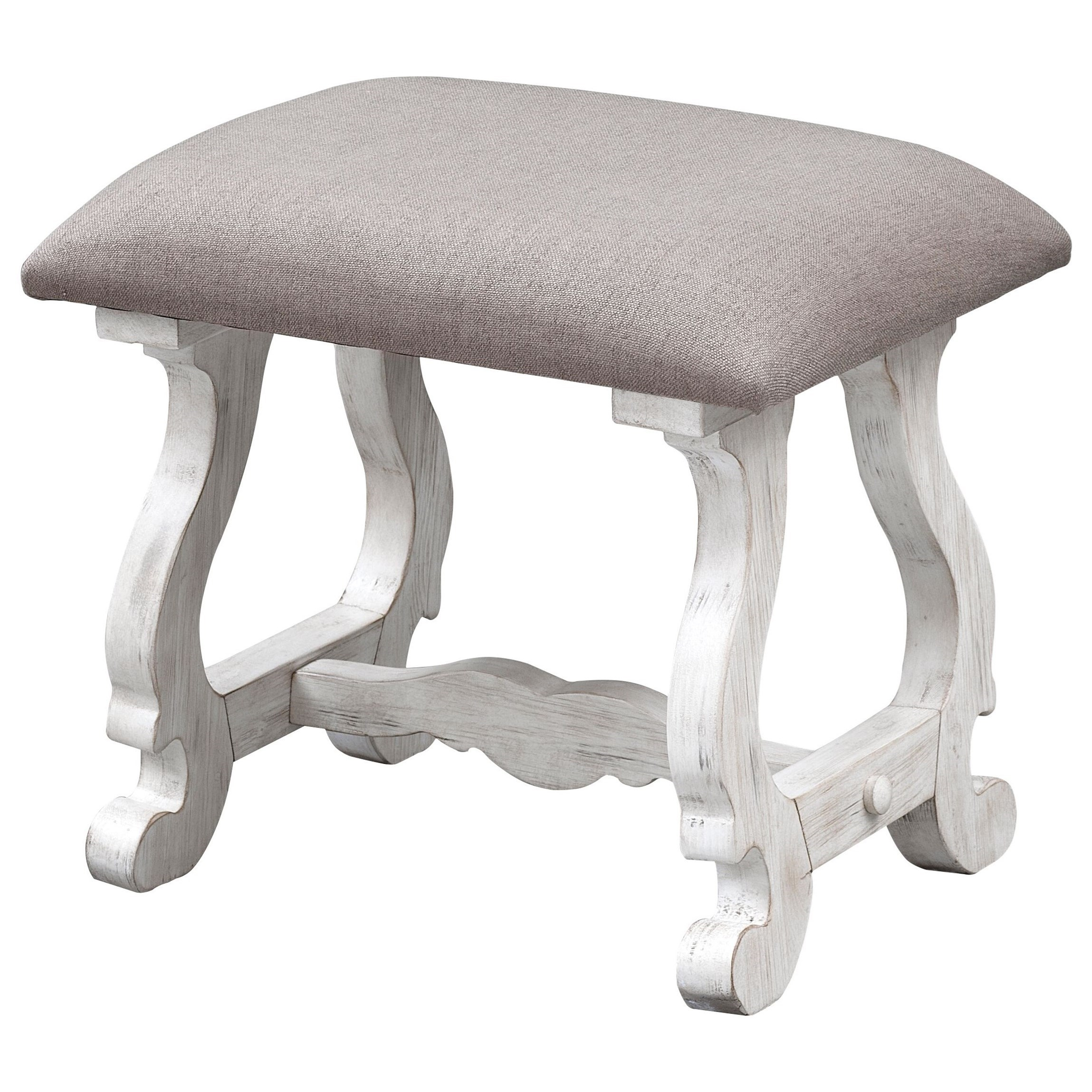 Coast to Coast Accents Accent Stool by Coast to Coast Imports at Baer's Furniture