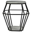 Coast to Coast Imports Coast to Coast Accents Octagonal Accent Table - Item Number: 44613