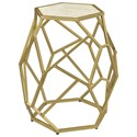 Coast to Coast Imports Coast to Coast Accents Hexagonal Accent Table - Item Number: 44614