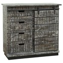 Coast to Coast Imports Coast to Coast Accents One Sliding Door, Four-Drawer Cabinet - Item Number: 44617