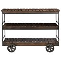Coast to Coast Imports Coast to Coast Accents Kitchen Cart - Item Number: 44637