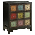 Coast to Coast Imports Coast to Coast Accents 3-Drawer Chest - Item Number: 46211