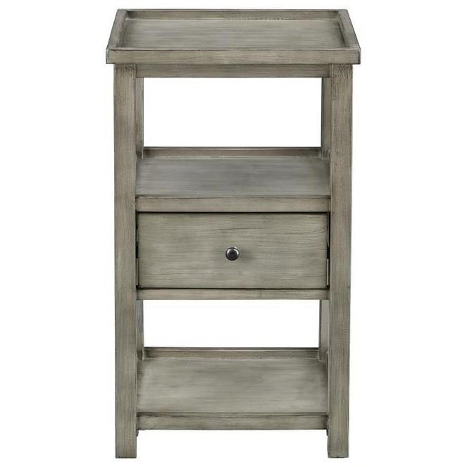 Coast to Coast Accents One Drawer Chairside Table by Coast to Coast Imports at Darvin Furniture