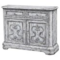 Coast to Coast Imports Coast to Coast Accents Two Door, Two Drawer Media Cabinet - Item Number: 48160