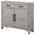 Coast to Coast Imports Coast to Coast Accents Two Door Two Drawer Cabinet - Item Number: 48190