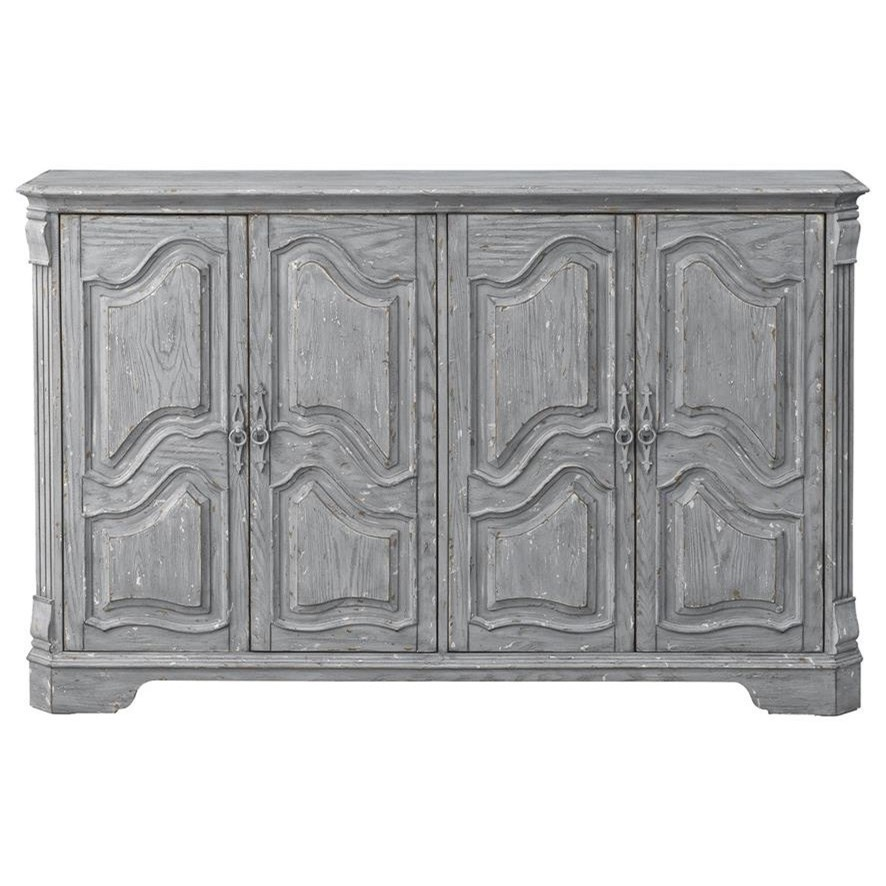 Coast to Coast Accents 4-Door Media Credenza by Coast to Coast Imports at Darvin Furniture