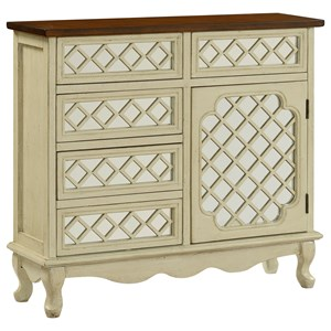 Coast to Coast Imports Coast to Coast Accents Five Drawer One Door Chest