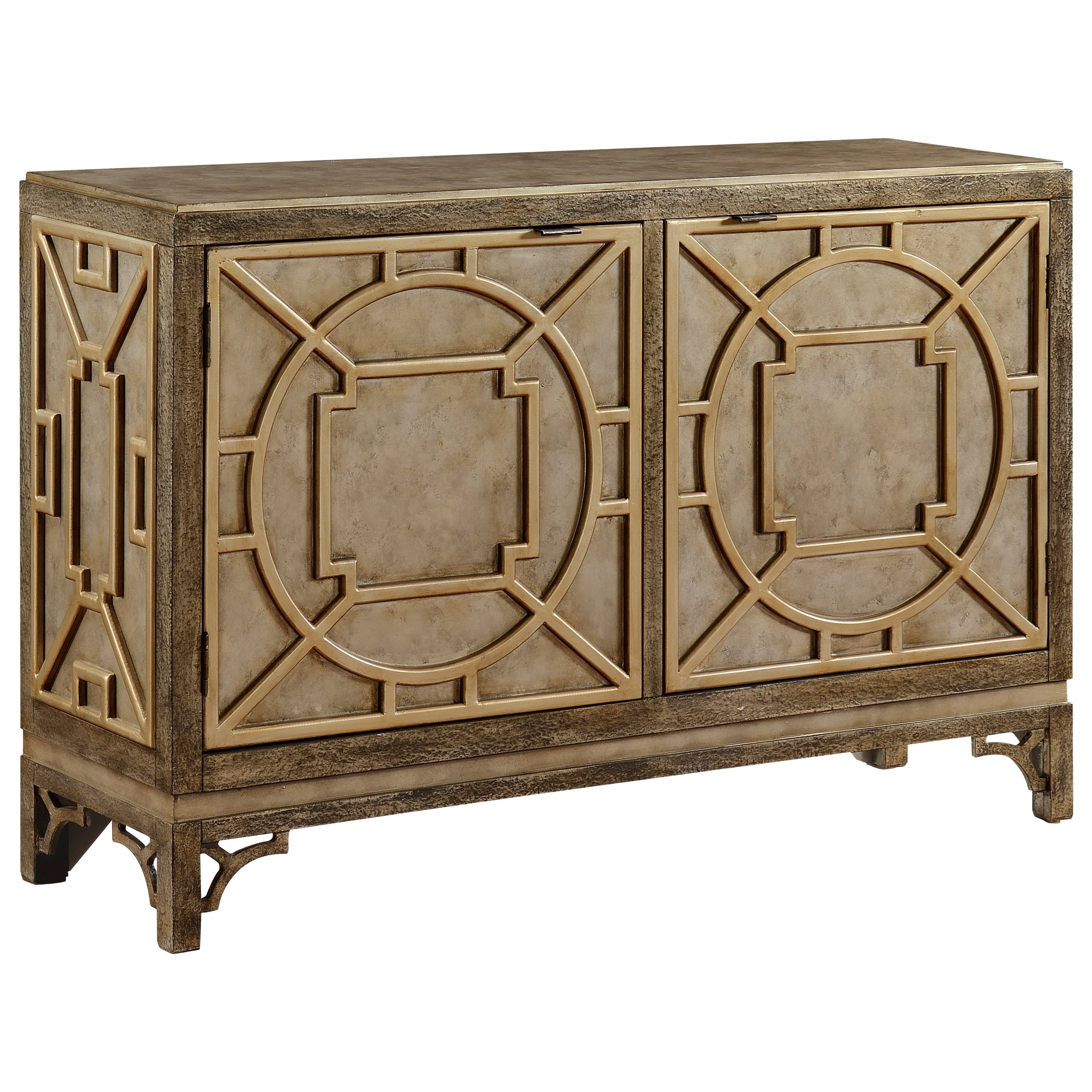 Coast to Coast Imports Coast to Coast Accents Two Door Media Cabinet - Item Number: 78714