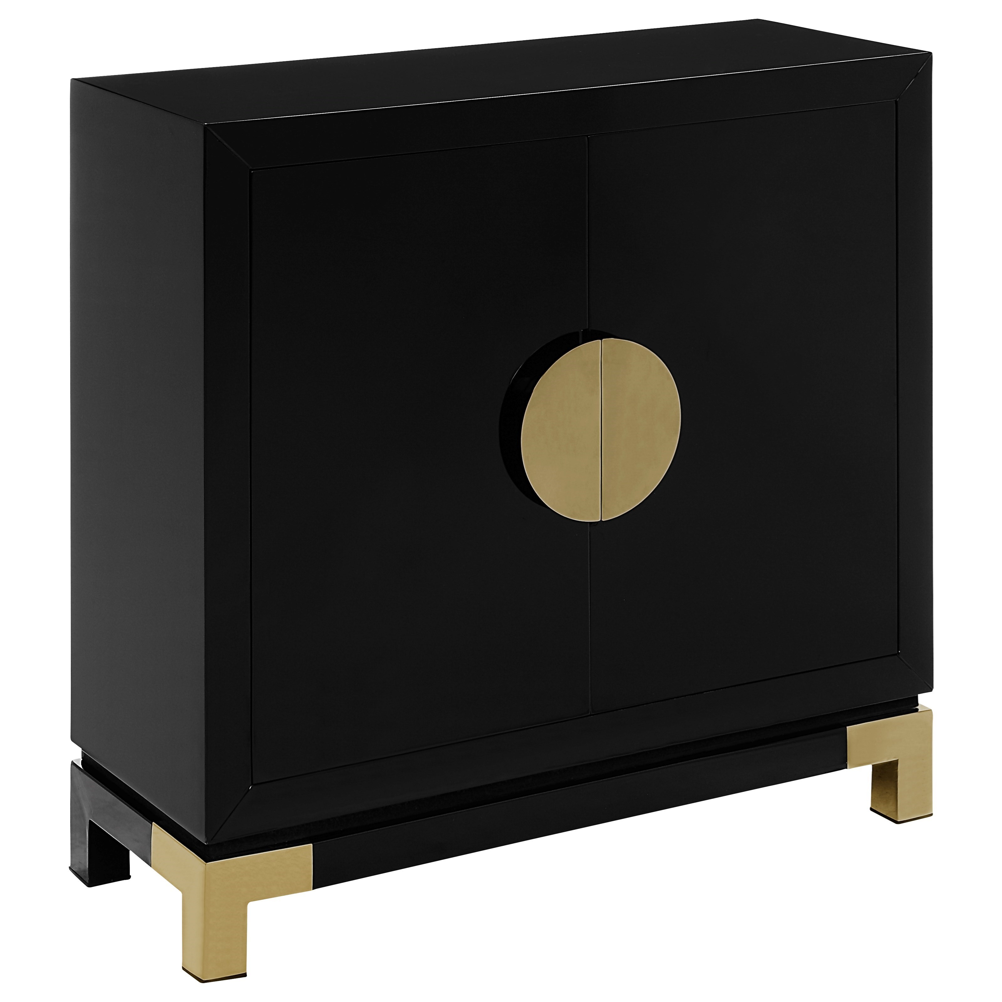 Coast to Coast Imports Coast to Coast Accents Two Door Cabinet - Item Number: 91703