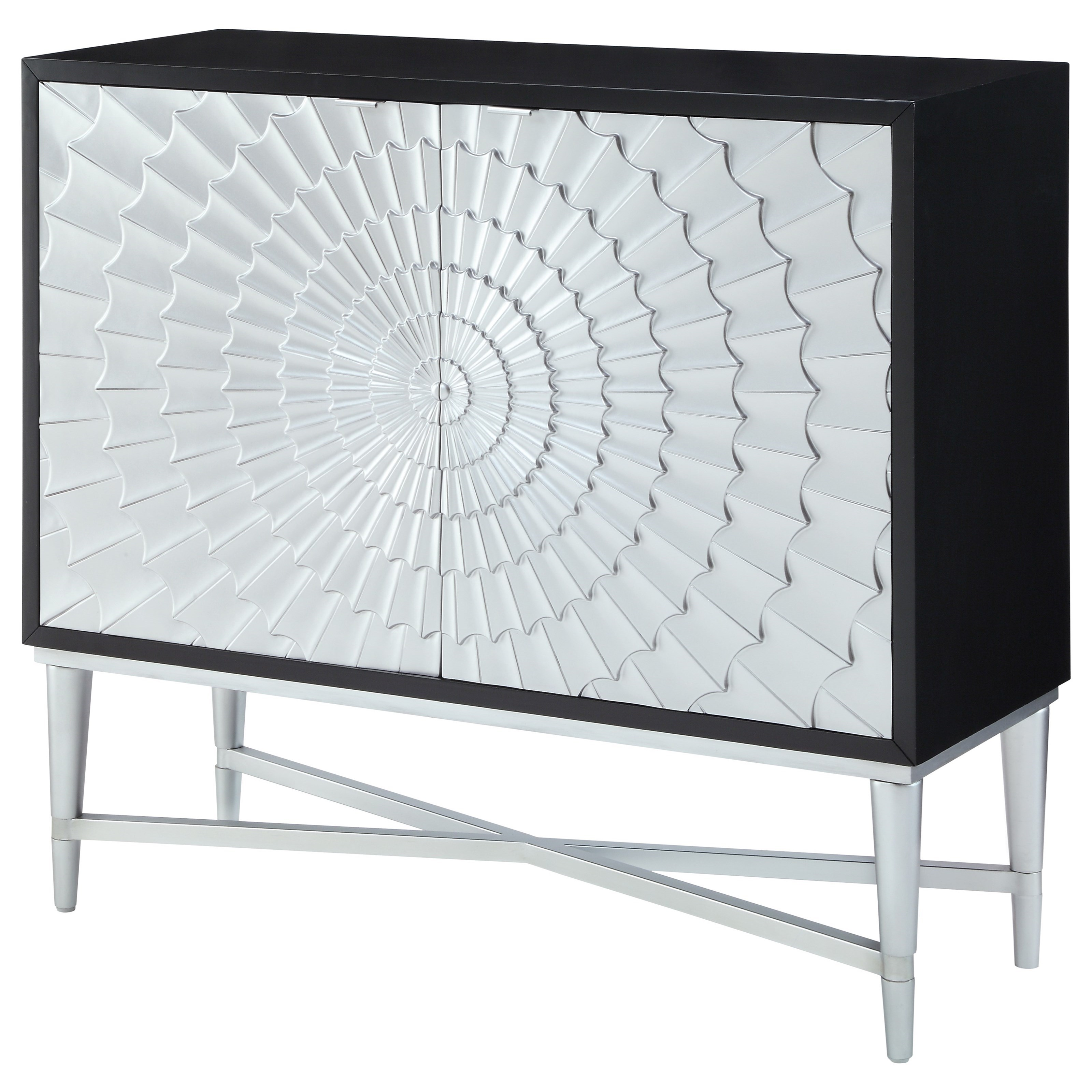 Coast to Coast Imports Coast to Coast Accents Two Door Cabinet - Item Number: 91704