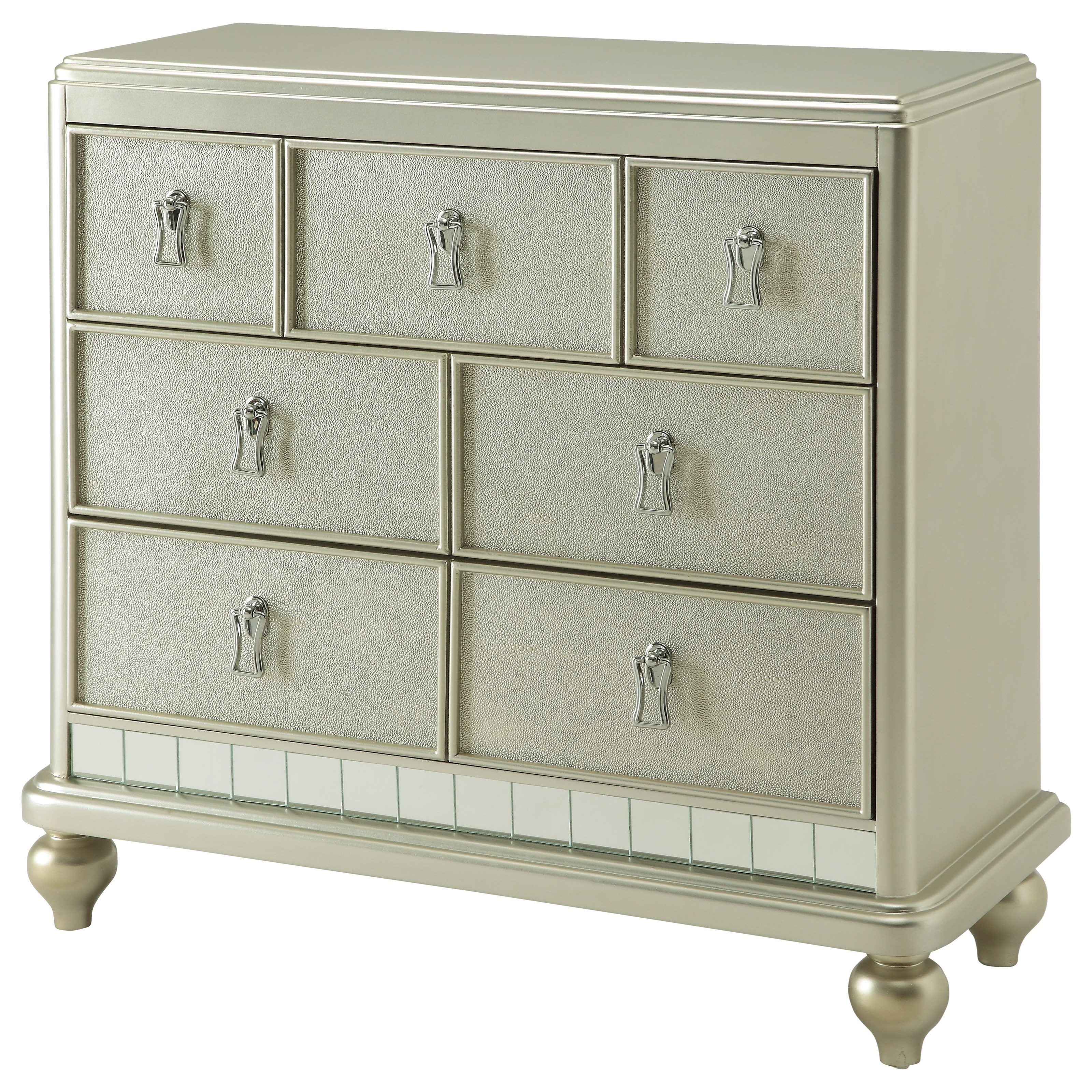 Coast to Coast Imports Coast to Coast Accents Three Drawer Chest - Item Number: 91706