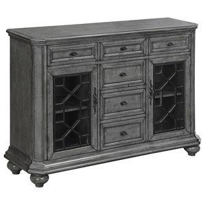 Coast to Coast Imports Coast to Coast Accents Two Door Six Drawer Sideboard