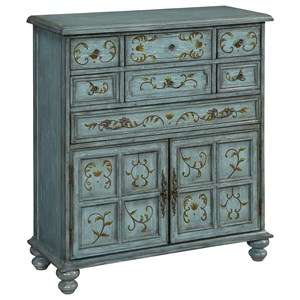 Coast to Coast Imports Coast to Coast Accents Two Door Seven Drawer Chest