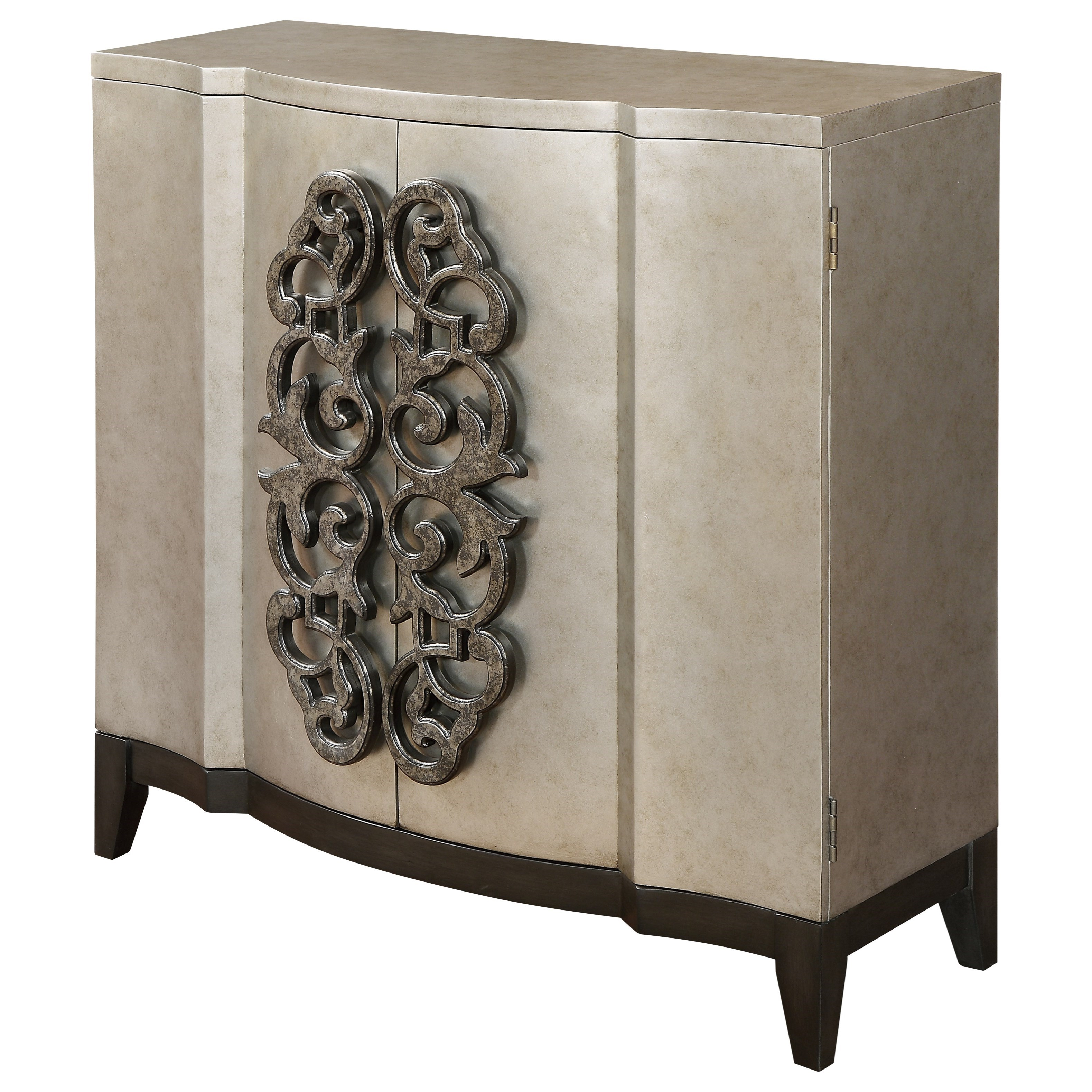 Coast to Coast Imports Coast to Coast Accents Two Door Cabinet - Item Number: 91814