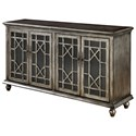 Coast to Coast Imports Coast to Coast Accents Four Door Media Credenza - Item Number: 91831