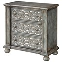 Coast to Coast Imports Coast to Coast Accents Three Drawer Chest - Item Number: 91838