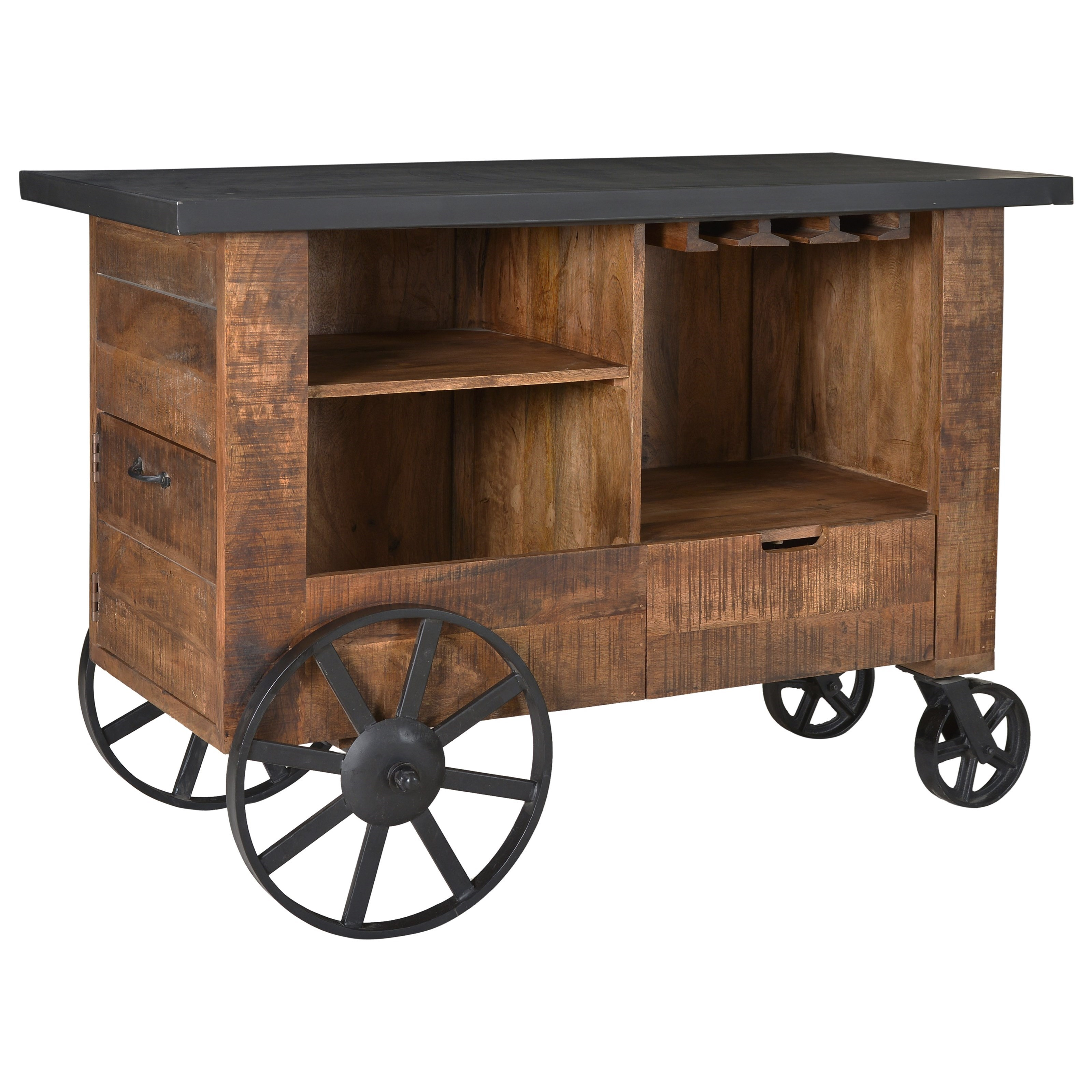 Ruby-Gordon Accents Coast to Coast Accents Bar Trolley - Item Number: 93415