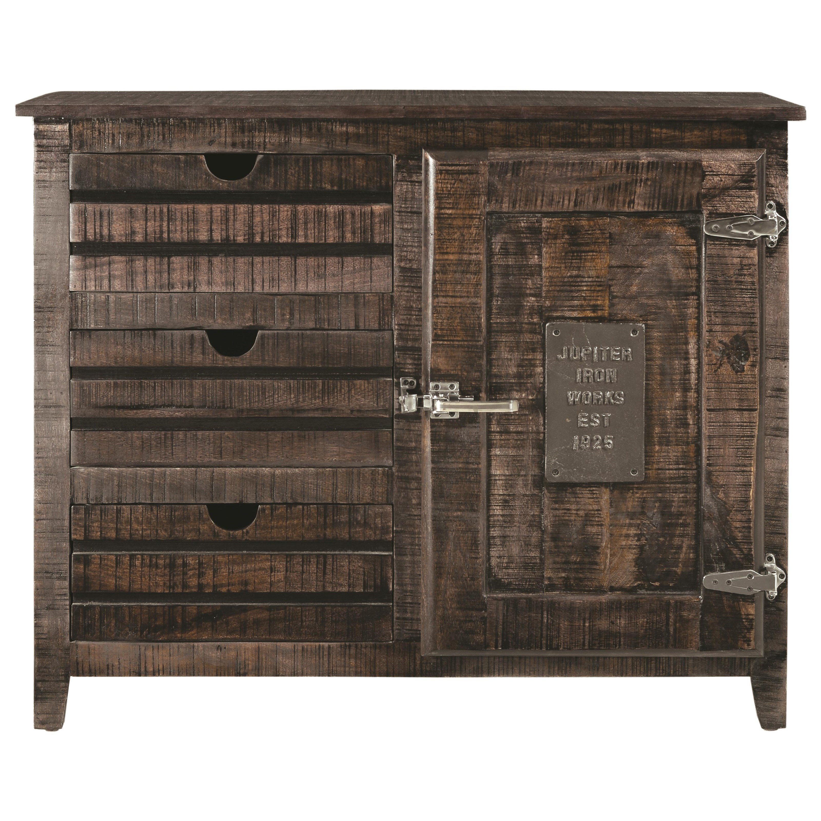 Coast To Coast Imports Coast To Coast Accents One Door Three Drawer Cabinet Becker Furniture