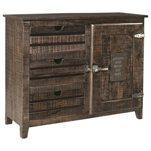 Coast to Coast Imports Coast to Coast Accents One Door Three Drawer Cabinet