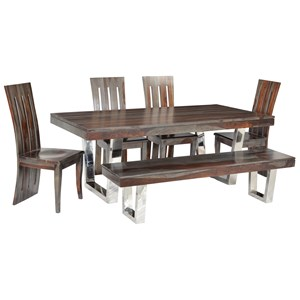Coast to Coast Imports Cosmopolitan Table & Chair Set