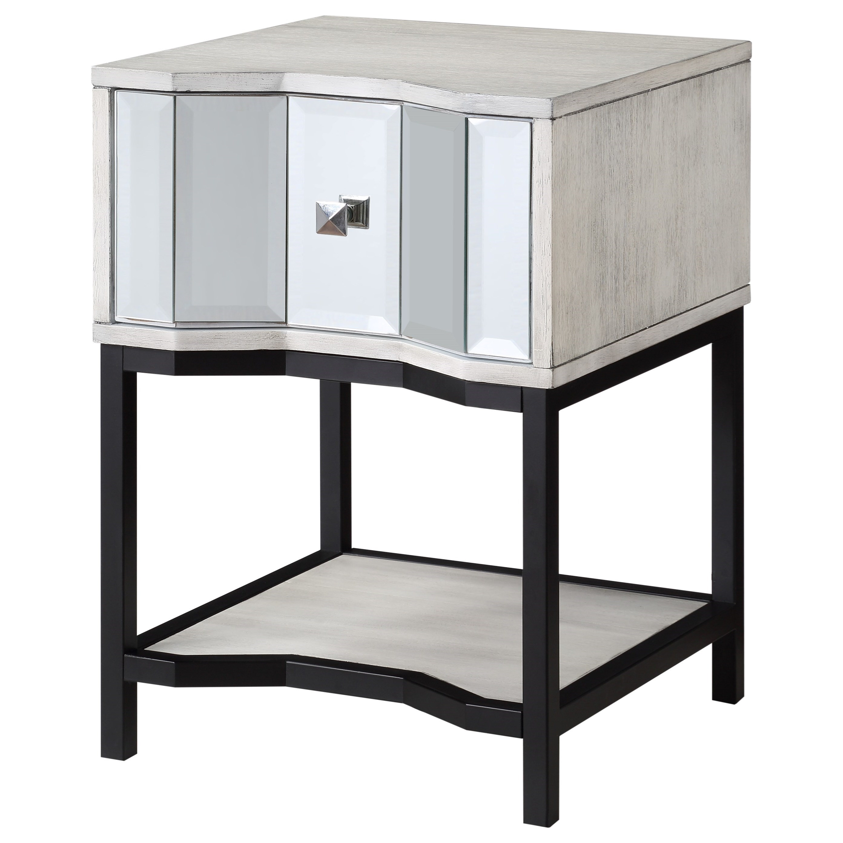 Coast To Coast Imports Gabby Contemporary 1 Drawer End Table Zak S Home End Tables