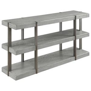 Coast to Coast Imports Greystone Sofa Console Table