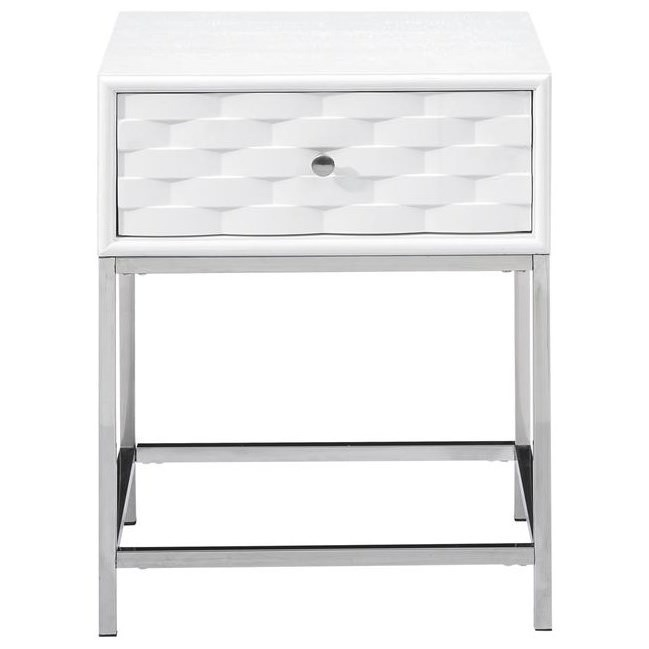 Islander One Drawer End Table by Coast to Coast Imports at Johnny Janosik