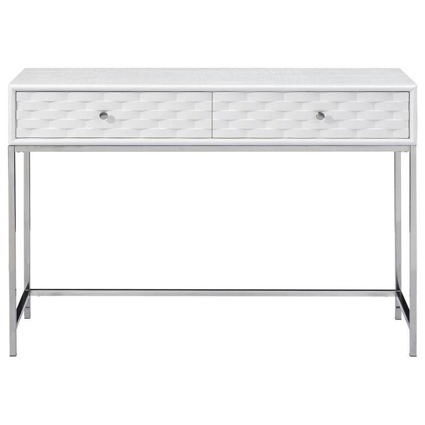 Islander Two Drawer Console by Coast to Coast Imports at Johnny Janosik