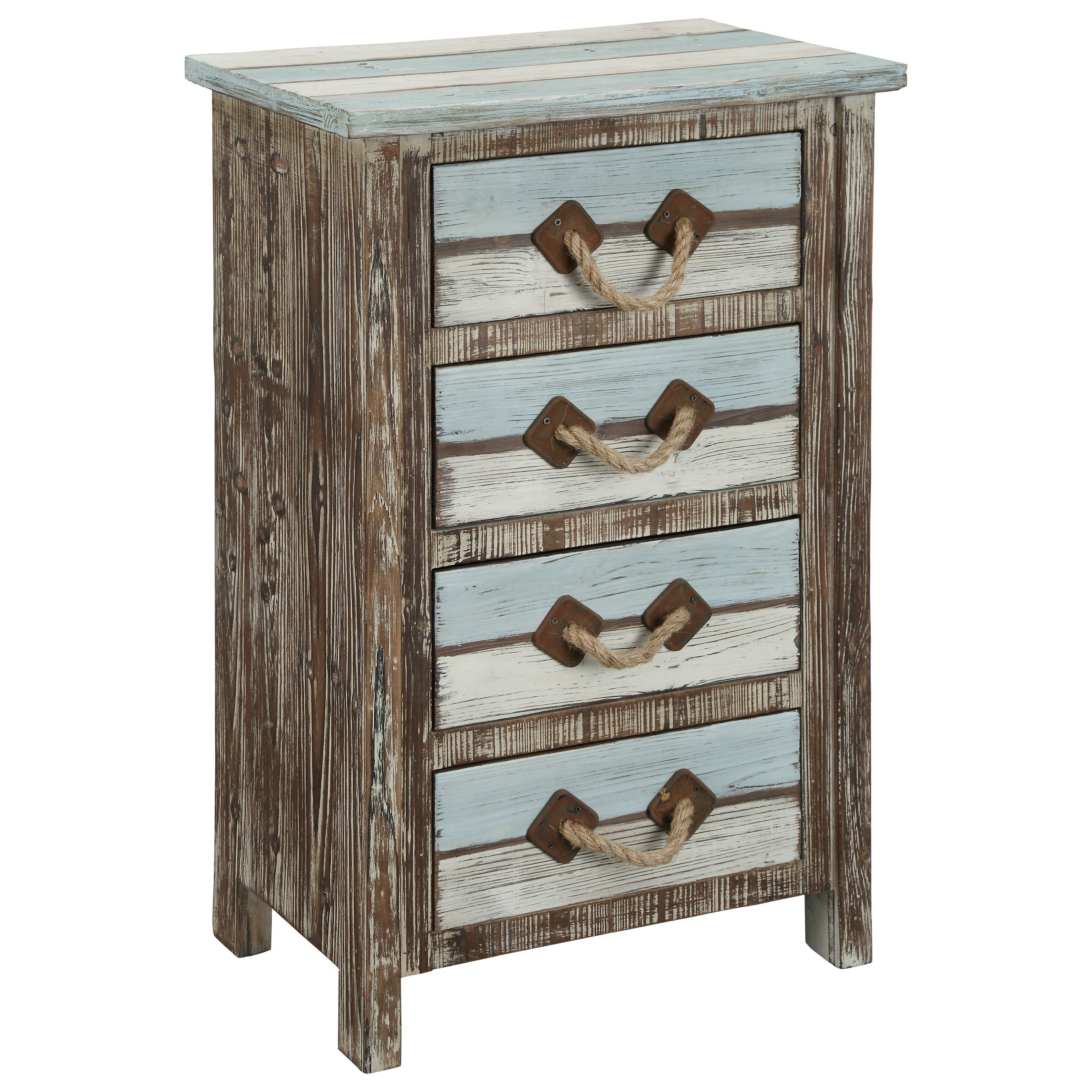 Islander Four Drawer Chest by Coast to Coast Imports at Johnny Janosik