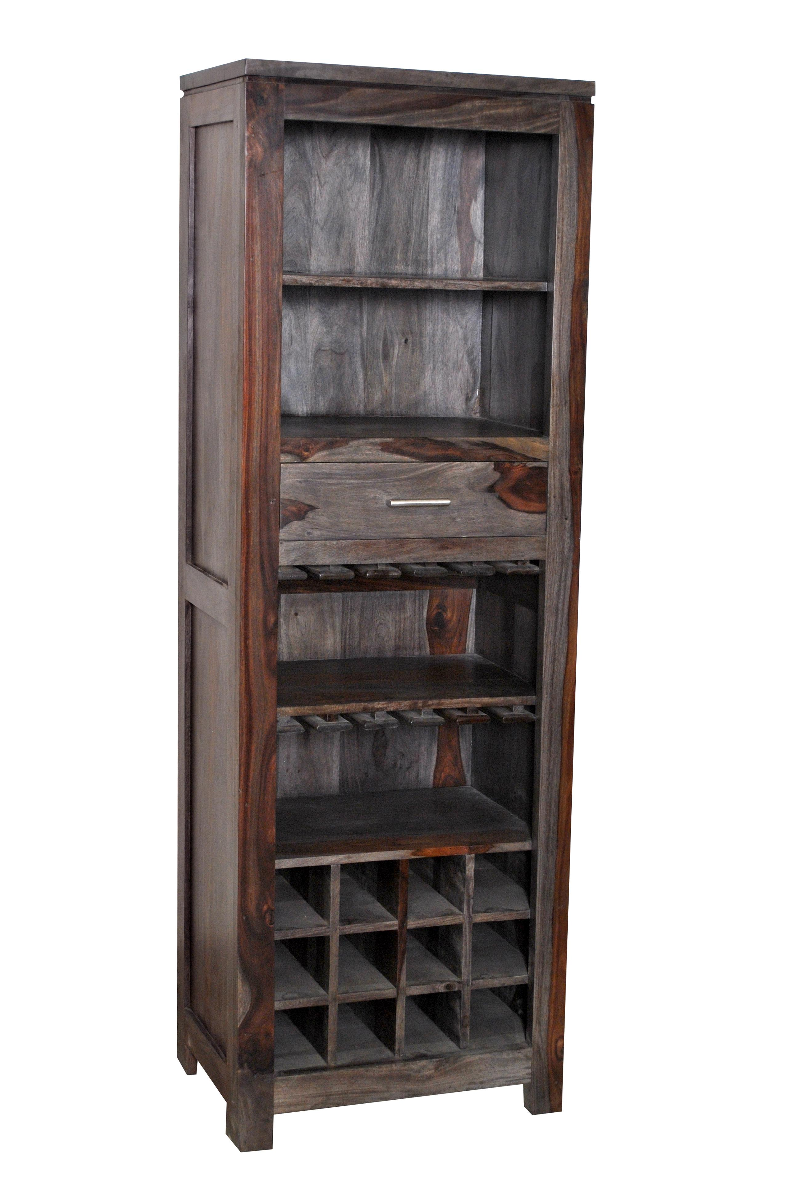 Coast to Coast Imports Grayson One Drawer Wine Cabinet - Item Number: 54716