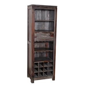 Coast to Coast Imports Jadu Accents One Drawer Wine Cabinet