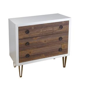 Coast to Coast Imports Jadu Accents Three Drawer Chest