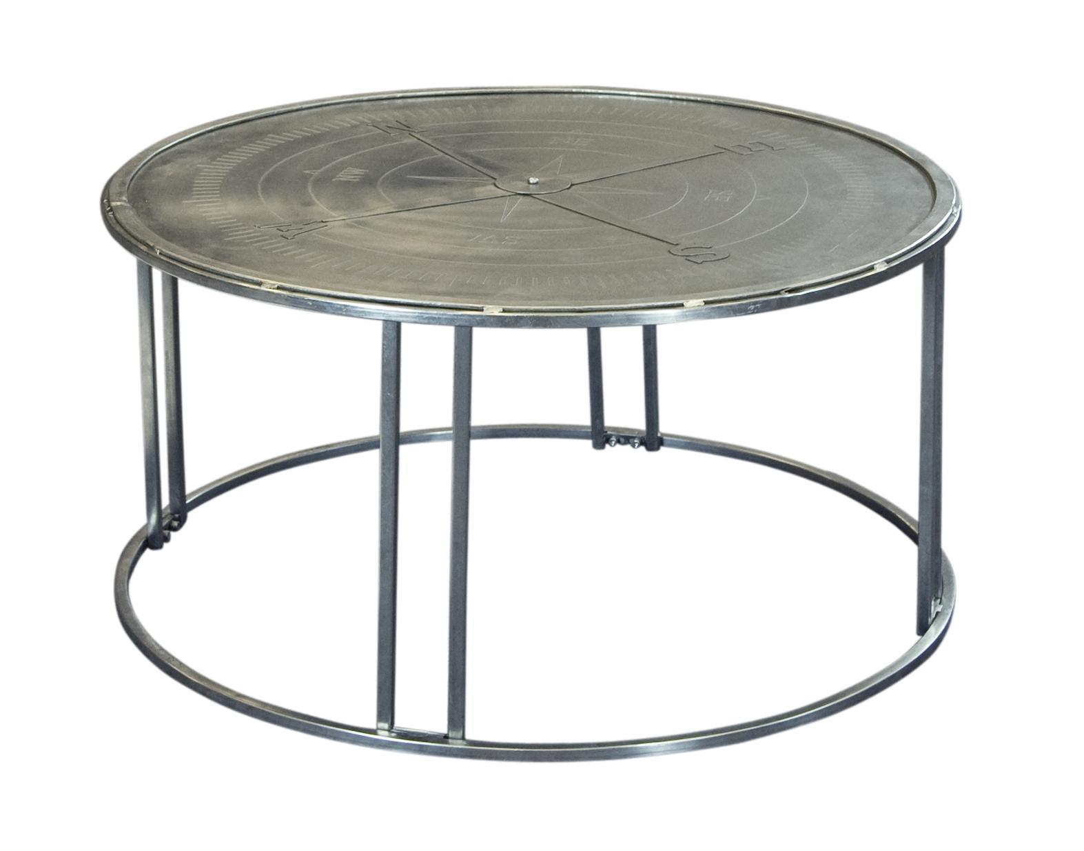 Coast to Coast Imports Jadu Accents Compass Rose Cocktail Table - Item Number: 59447