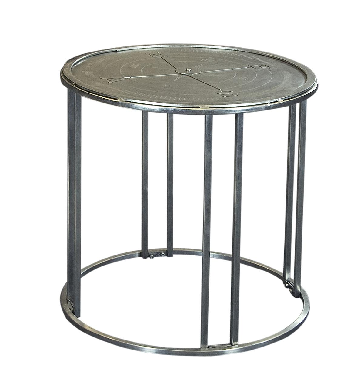 Coast to Coast Imports Jadu Accents Compass Rose End Table - Item Number: 59448