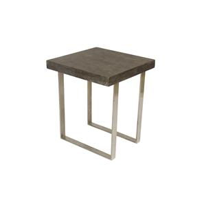 Coast to Coast Imports Jadu Accents Square End Table