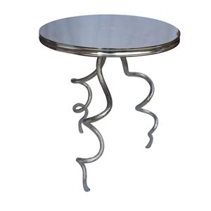 Coast to Coast Imports Jadu Accents Metal Accent Table