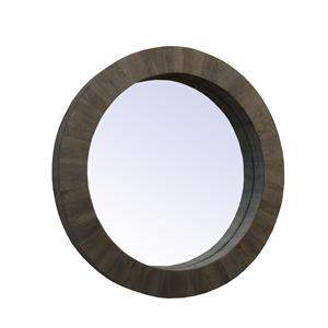 Coast to Coast Imports Jadu Accents Round Mirror