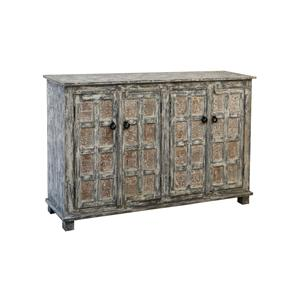 Coast to Coast Imports Jadu Accents Four Door Credenza