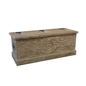 Coast to Coast Imports Jadu Accents Storage Trunk