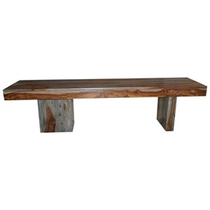 Coast to Coast Imports Zamora Zamora Wooden Bench