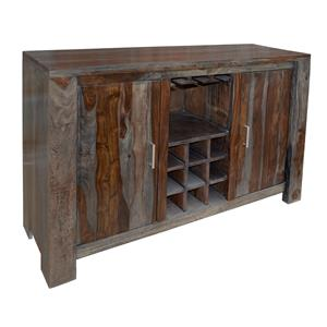 Coast to Coast Imports Grayson Two Door Wine Server
