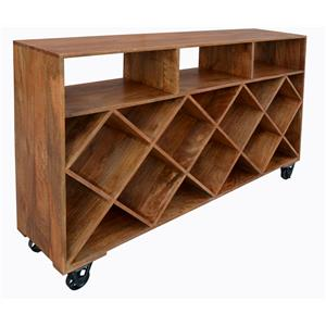 Coast to Coast Imports Jadu Accents Wine Trolly