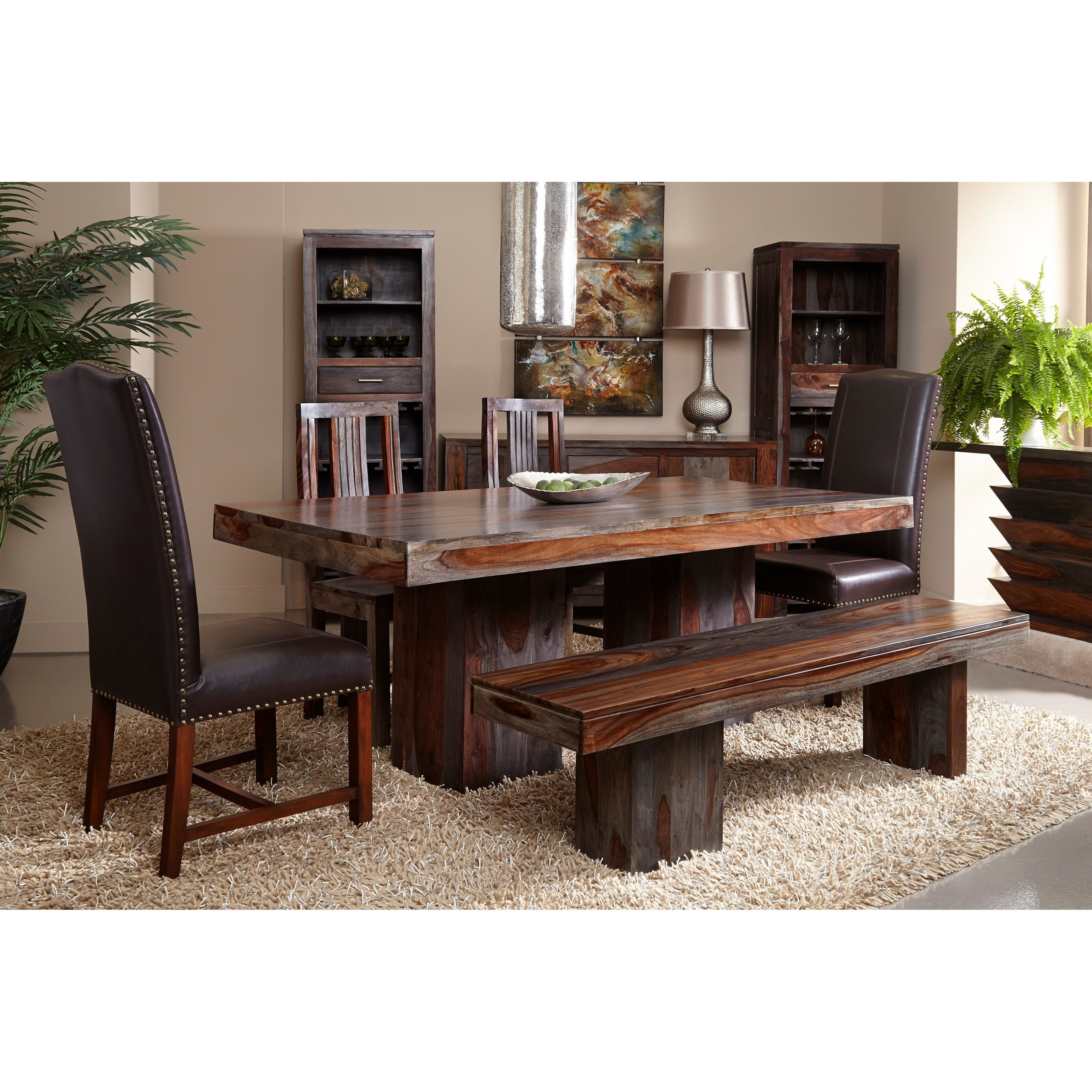 Coast to Coast Imports Grayson Dining Room Group  - Item Number: Dining Room Group 3