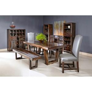 Coast to Coast Imports Jadu Accents Dining Room Group